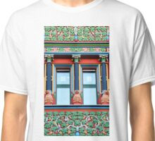 Town Hall Window With Monkeys Classic T-Shirt