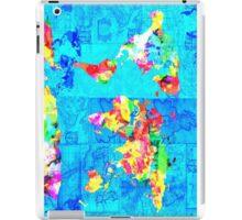world map collage iPad Case/Skin