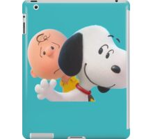 charlie brown and snoopy the peanuts movie 2 iPad Case/Skin
