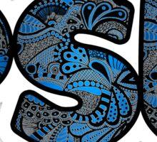 PSU Doodle Sticker
