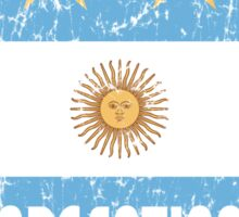 World Cup Football 5/8 - Argentina (Distressed) Sticker