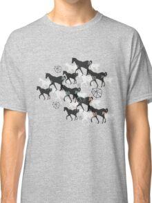 Horses Classic T-Shirt