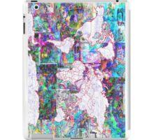 world map collage 3 iPad Case/Skin