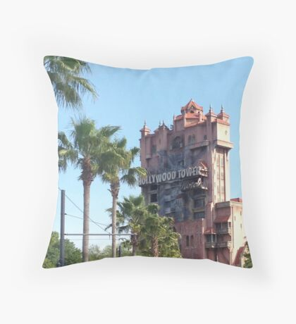 Hollywood Tower of Terror Throw Pillow