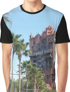 Hollywood Tower of Terror Graphic T-Shirt