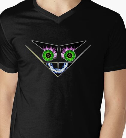 Electrical smile   Mens V-Neck T-Shirt