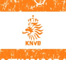 World Cup Football - Netherlands (Distressed) Sticker