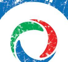 World Cup Football 2/8 - Team Italia (distressed) Sticker