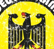 World Cup Football 3/8 - Team Deutschland (distressed) Sticker