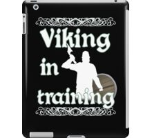 Viking In Training - Vikings, Norse Design iPad Case/Skin