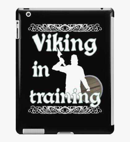 Viking In Training - Vikings, Norse Design iPad Case/Skin