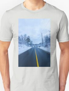 Winter Road Unisex T-Shirt