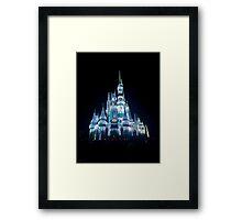 Christmas Castle Framed Print