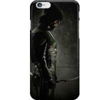 Green arrow TV iPhone Case/Skin