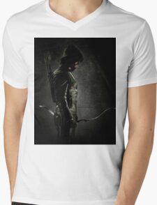 Green arrow TV Mens V-Neck T-Shirt