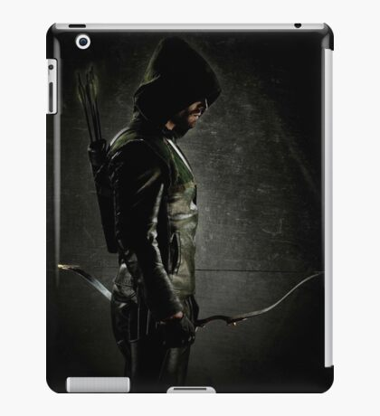Green arrow TV iPad Case/Skin
