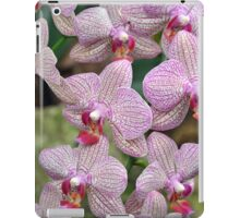 Pink spotted orchids iPad Case/Skin