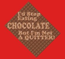 Can't Stop Eating Chocolate Kids Tee
