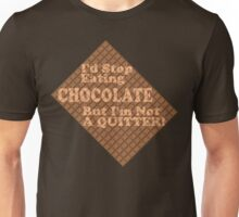 Can't Stop Eating Chocolate Unisex T-Shirt