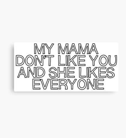 JB Mama Canvas Print