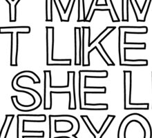 JB Mama Sticker