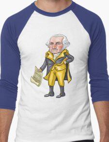 George Washington Men's Baseball ¾ T-Shirt