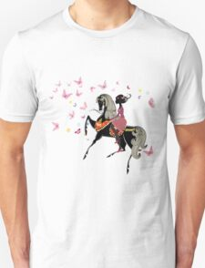 Woman on horse T-Shirt
