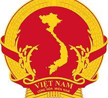 Emblem of Revolutionary Provisional Government of South Vietnam, 1969-1976 by abbeyz71