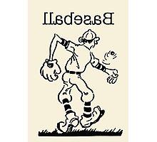 Lefty Baseball Photographic Print
