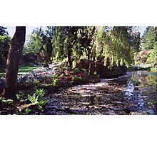 Butchart Gardens Lake Photographic Print