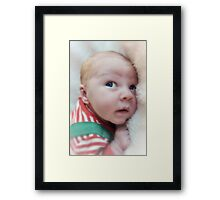 Littlest Elf Framed Print