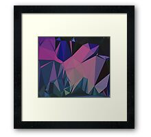 A Natural Formation Framed Print