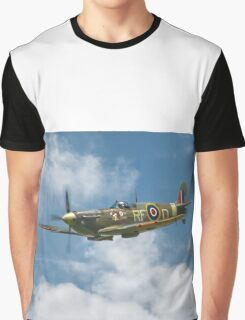 Spitfire in The Clouds Graphic T-Shirt