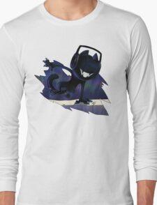 Jumping Cat. Long Sleeve T-Shirt