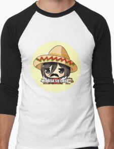 Mikasa Su Casa  Men's Baseball ¾ T-Shirt