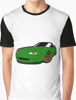 Convertible green japan car Graphic T-Shirt
