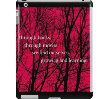 Growing and Learning iPad Case/Skin