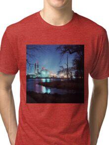 Factory at Night Tri-blend T-Shirt
