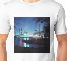 Factory at Night Unisex T-Shirt