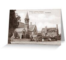 The Catholic Church, Richmond Road, Worthing. Greeting Card