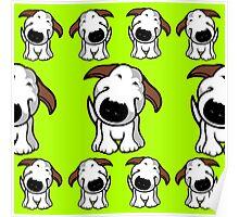Bull Terrier Repeat Poster