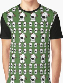 Bull Terrier Repeat Graphic T-Shirt