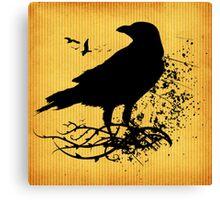 Nevermore Raven Canvas Print