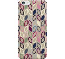 Seamless leaf pattern iPhone Case/Skin