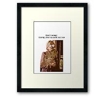 Luna Lovegood quote 2 Framed Print