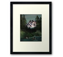 Happy Trees13 Framed Print