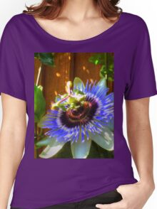 Passion Fruit Flower Women's Relaxed Fit T-Shirt