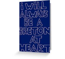 I'm a Breton Greeting Card