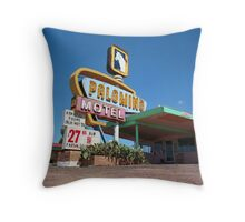Palomino Motel Throw Pillow