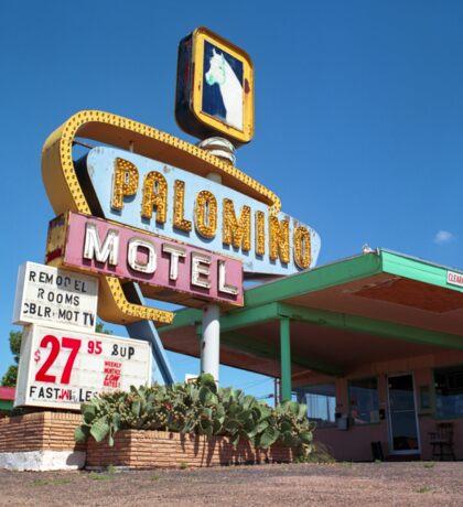 Palomino Motel Sticker